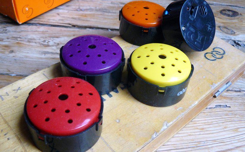 boutons enregistreurs