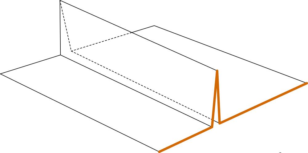 schéma de pliage pour fabriquer les compartiments