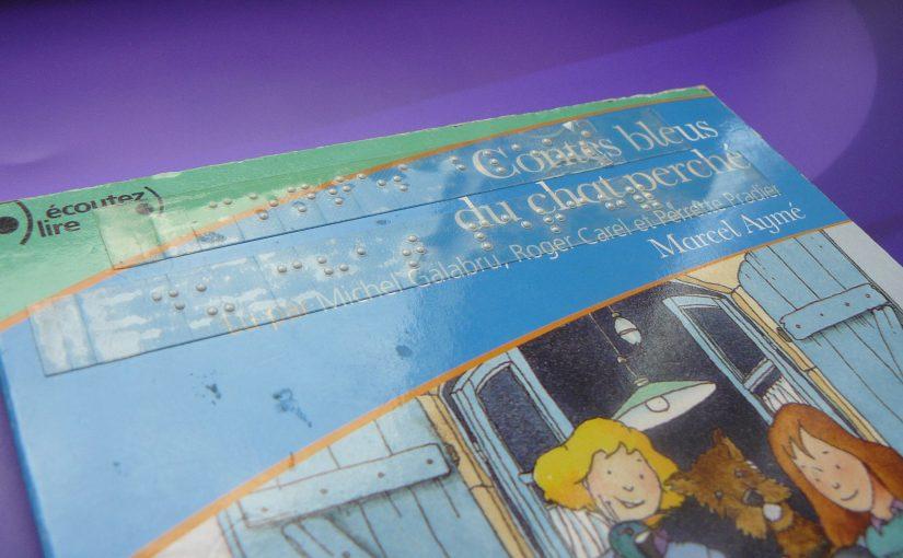 Boîtier du CD les contes bleus du chat perché